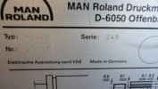 Двухкрасочная офсетная машина ROLAND 202 ТОВ